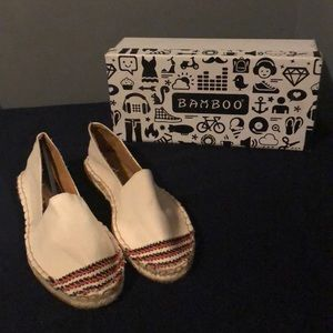 Brand New BAMBOO Canvas Shoes